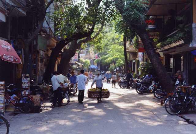 Street scene - Hanoi